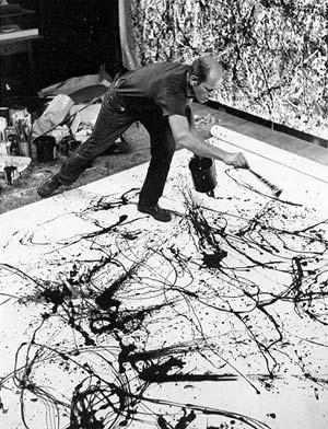 Jackson Pollock e Keith Moon ovvero l�Action Painting e il segreto degli Who