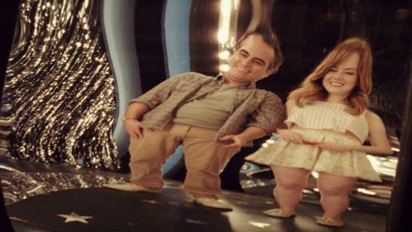 Joaquin Phoenix Emma Stone mirror Irrational Man Woody Allen
