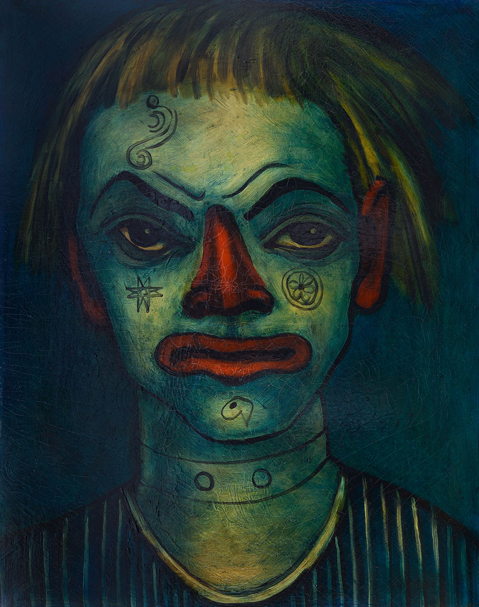Francis Picabia Le Clown Fratellini (1937-38). © 2016 Artist Rights Society (ARS), New York/ADAGP, Paris