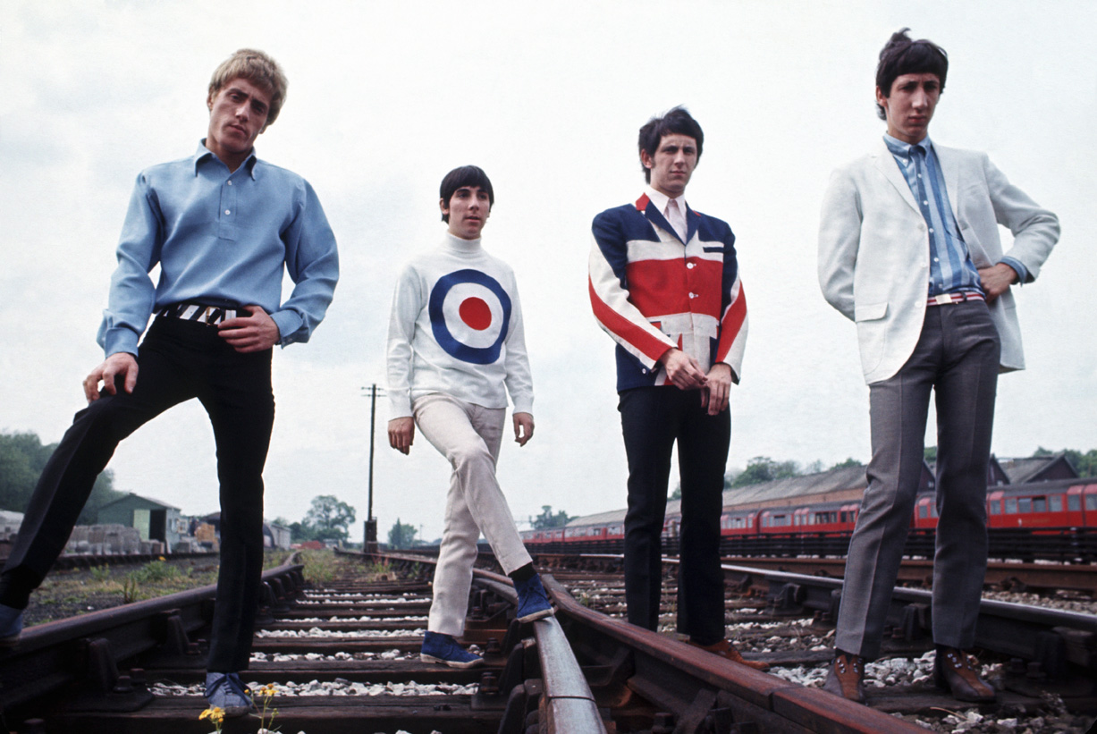 1965, Paris, France --- British Band The Who --- Image by © Tony Frank/Sygma/Corbis