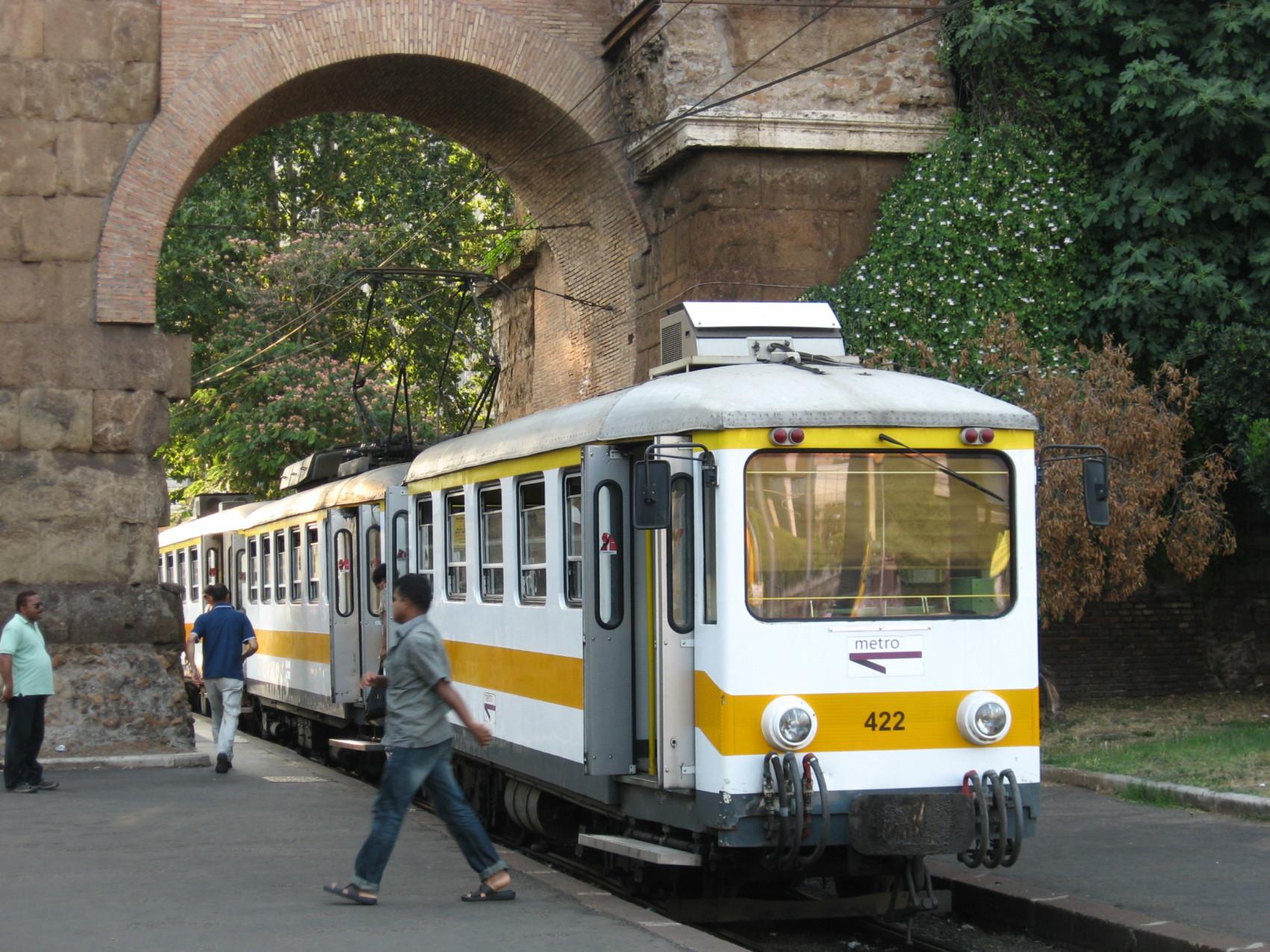 porta maggiore tram