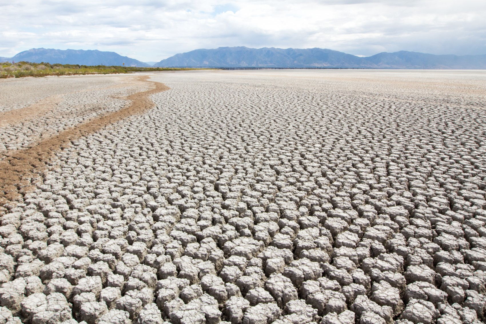 dancing on a dry salt lake