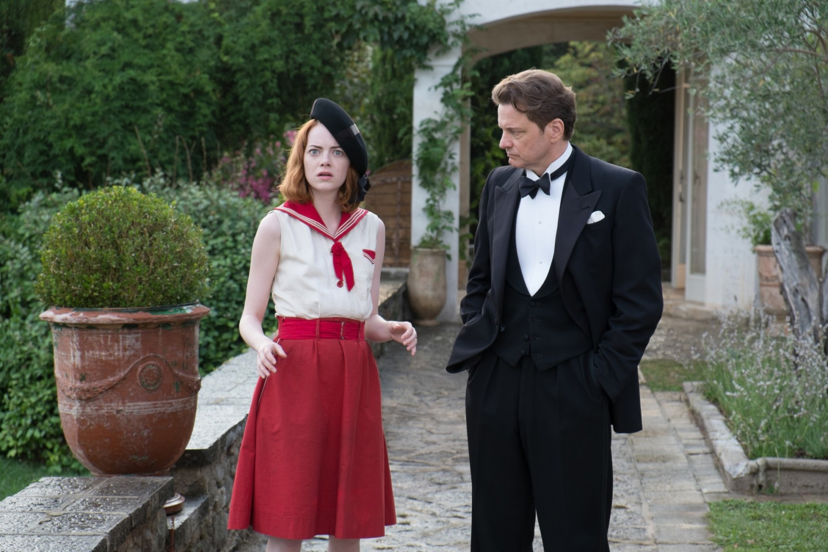 Woody Allen Colin Firth Emma Stone Magic in the moonlight