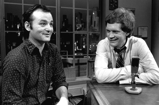 letterman bill murray