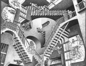 M.C. Escher Relativity (1953) ©National Gallery of Art, Washington, DC