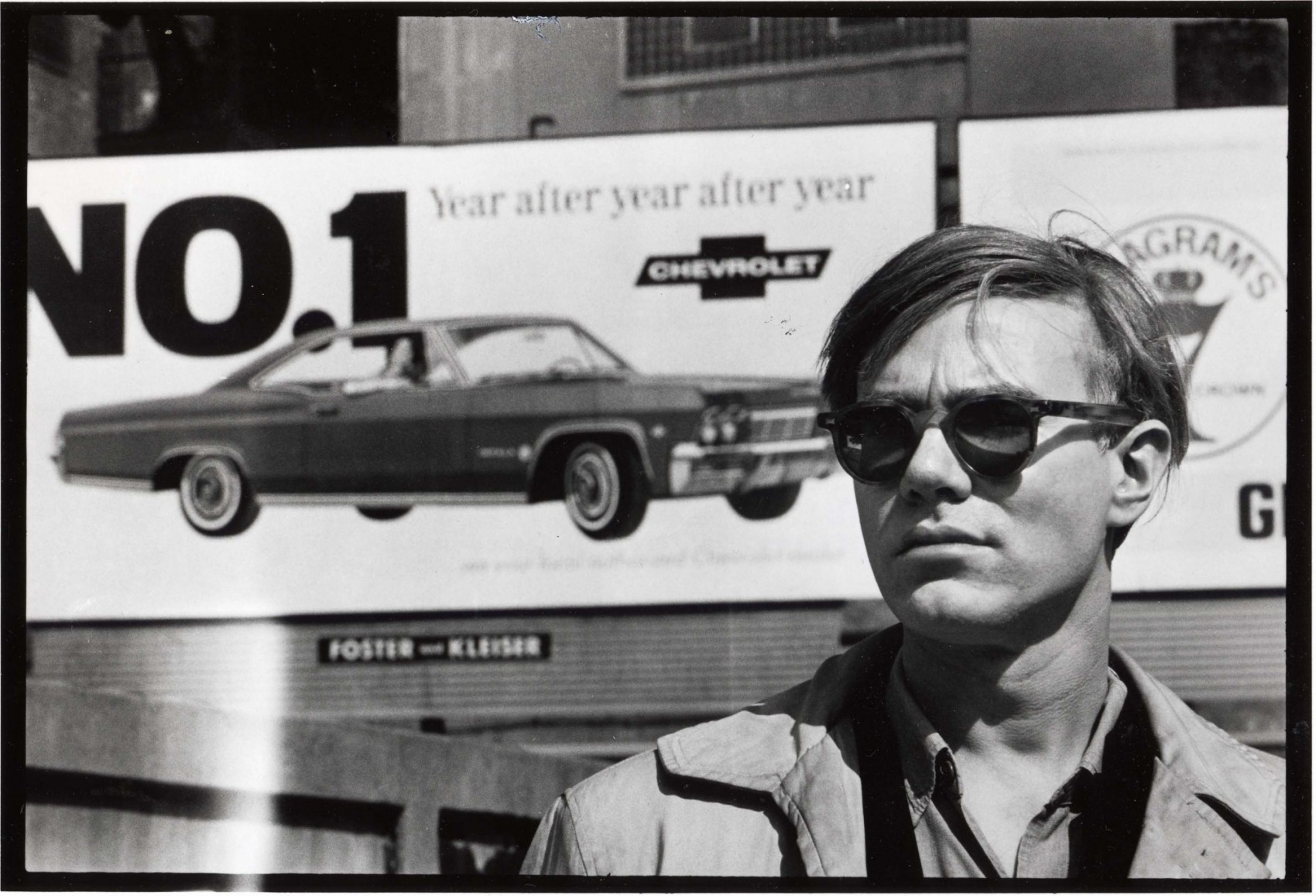 Andy Warhol at the Factory, New-York City, 1964, photo by David McCabe