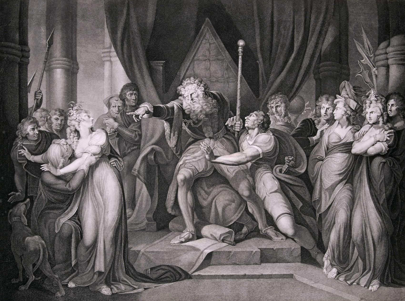 ©J.H. Füssli King Lear Admonishing Cordelia