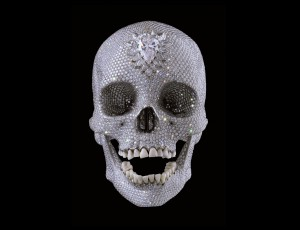 Damien Hirst For the love of God (2007), foto Prudence Cuming Associates ©Damien Hirst and Science Ltd. All rights reserved, DACS 2012