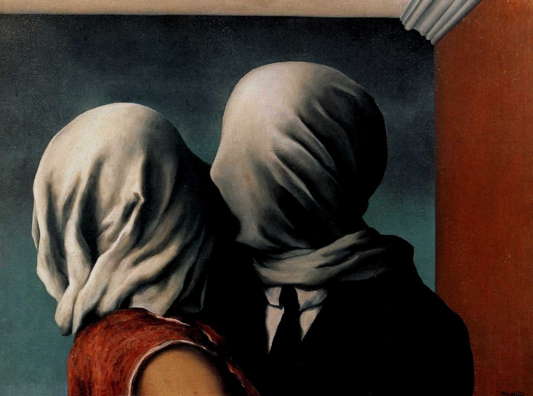 René Magritte Gli amanti, 1928 ©C. Herscovici, Brussels/ARS-Artists Rights Society, New York