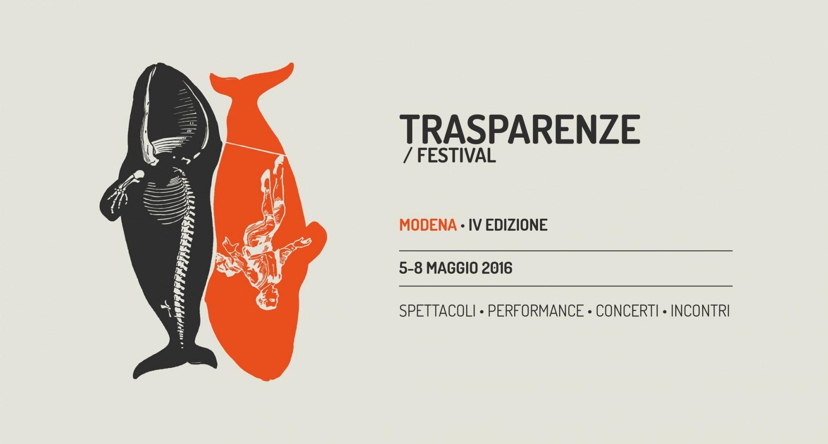 Festival Trasparenze 2016 Modena