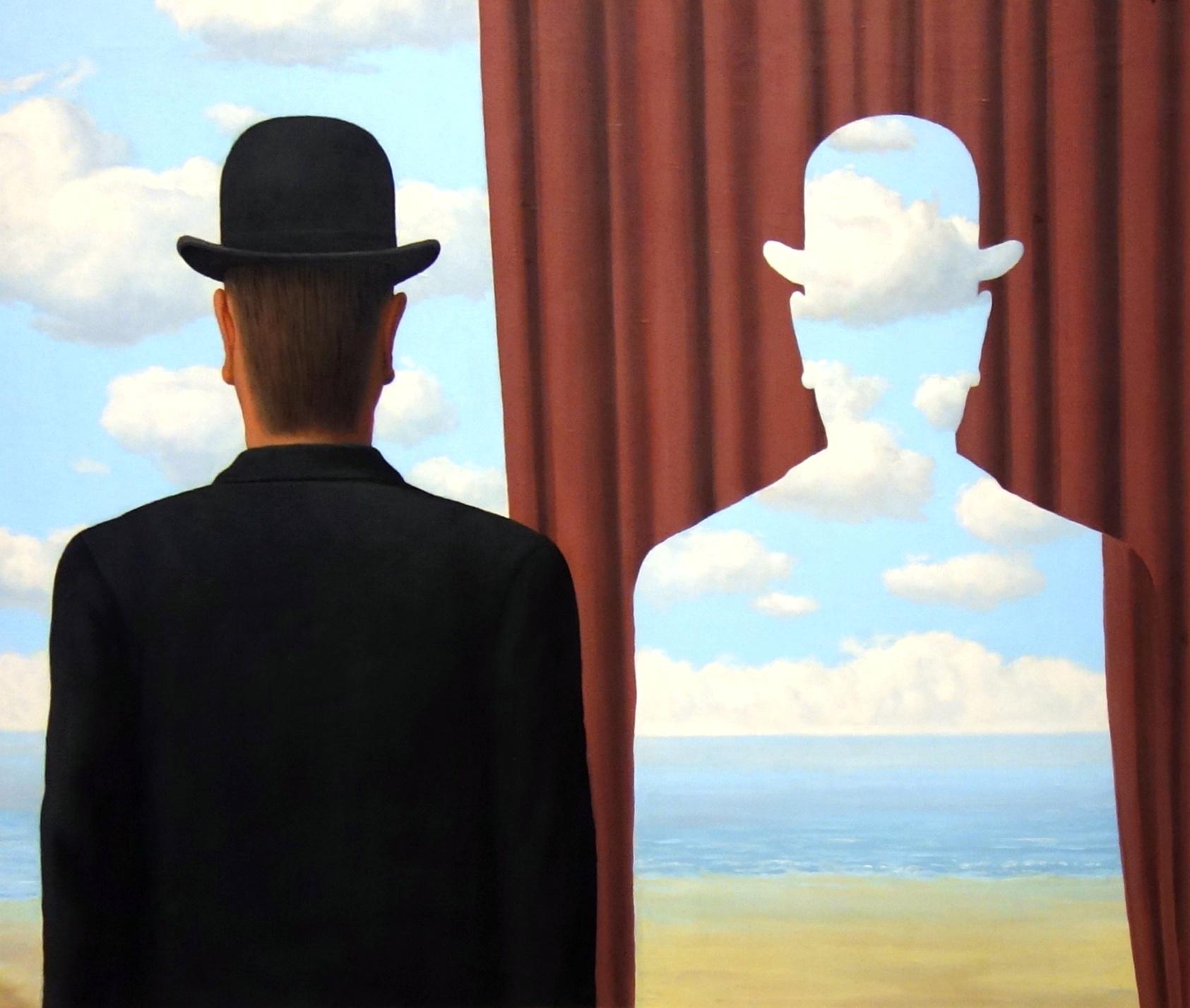 René Magritte Decalcomania, 1966 ©Collezione Dr. Noémi Perelman Mattis e Dr. Daniel C. Mattis