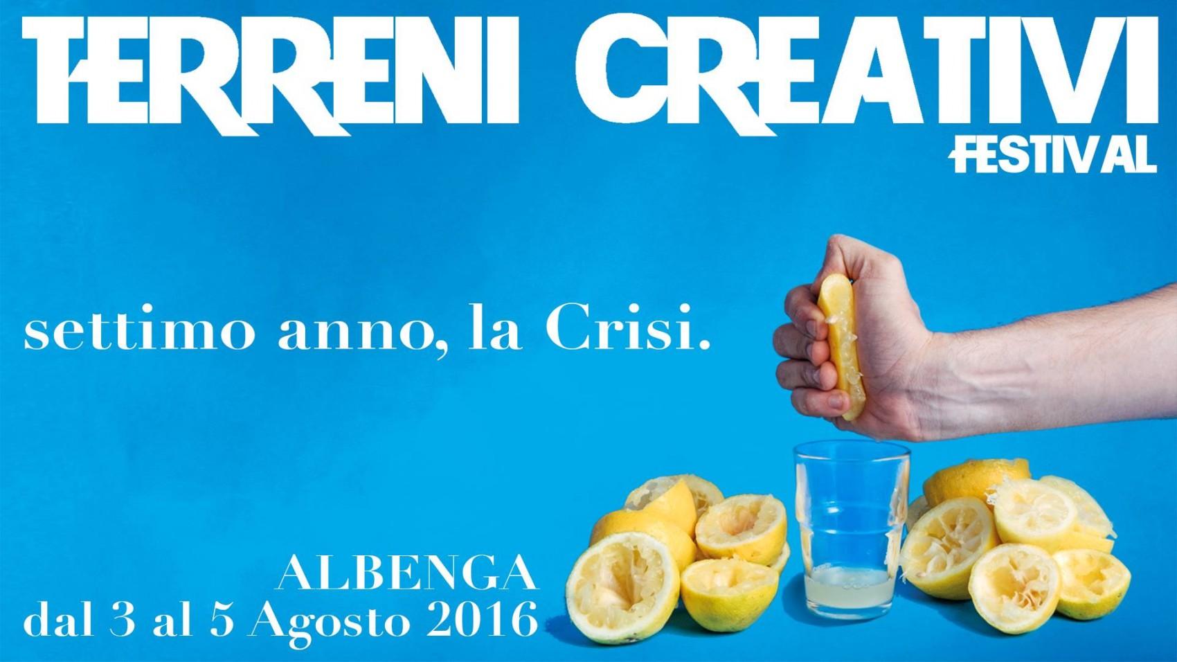 Terreni Creativi 2016 Albenga