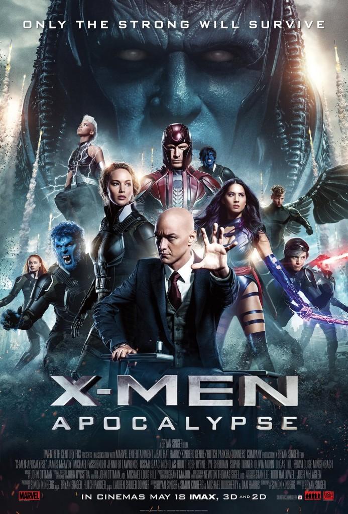 X-Men Apocalisse poster