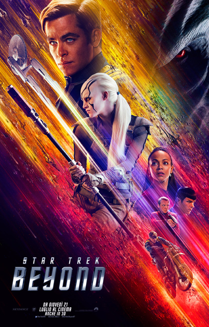 Star Trek Beyond Chris Pine poster