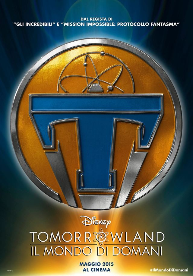 locandina tomorrowland film 2015