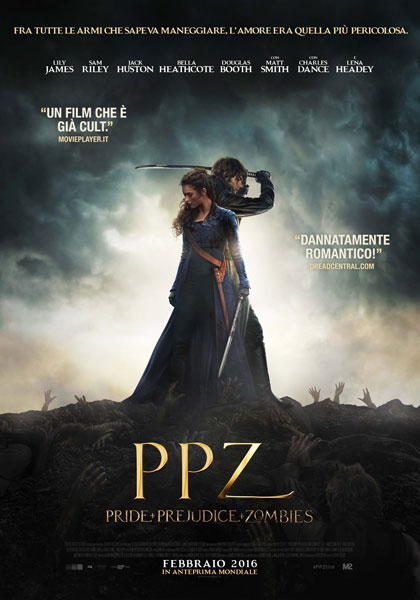 PPZ Pride Prejudice and Zombies poster