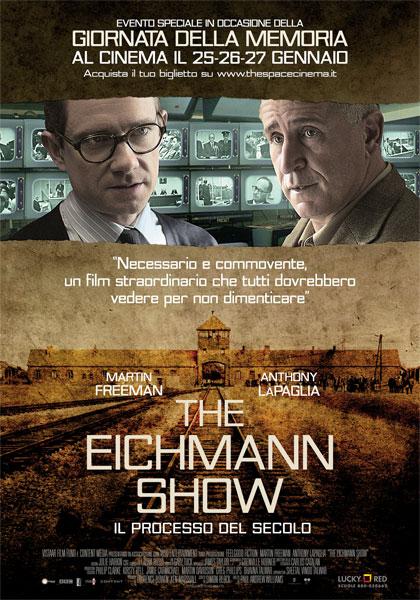 poster the eichmann show martin freeman