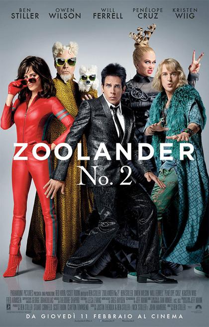 Zoolander 2 poster Ben Stiller