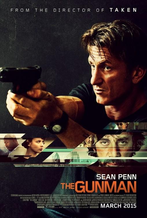 the gunman poster sean penn