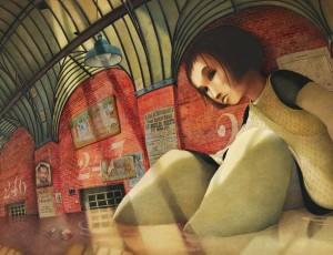 Rebecca Dautemer Alice au pays des merveilles, 2010 ©éditions Gautier-Languereau