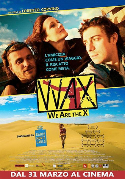 WAX locandina