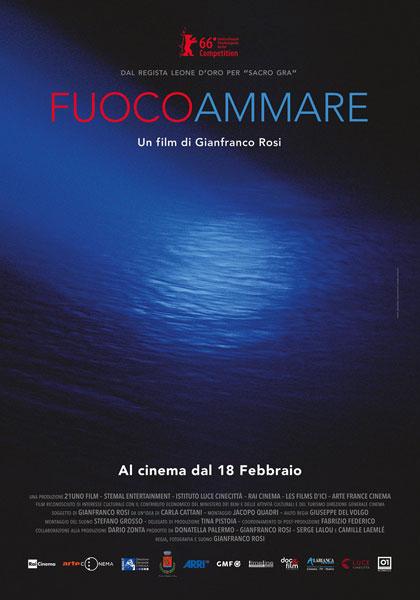 Locandina Fuocoammare Oscar 2017 Berlinale