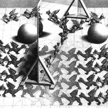(In copertina: M.C. Escher Specchio magico, 1946 ©M.C. Escher Foundation)