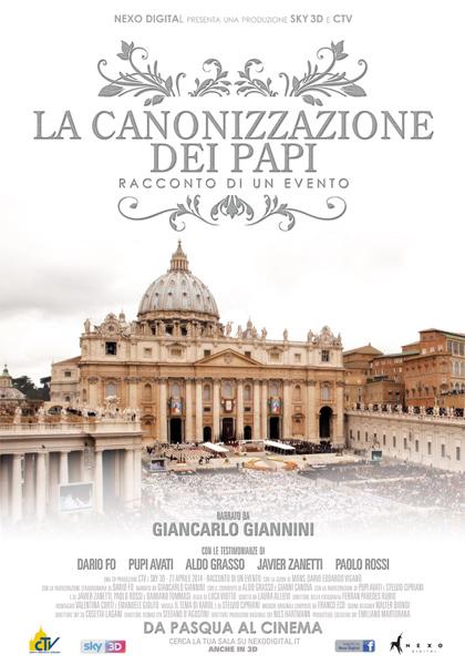la canonizzazione dei papi