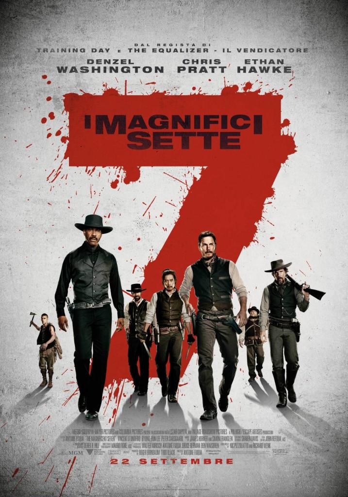 magnifici sette 2016 poster
