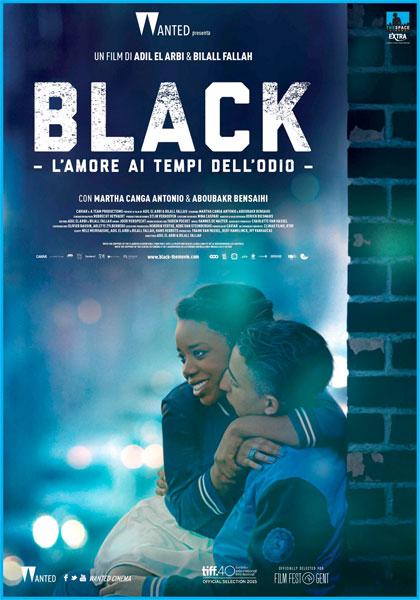 Black l'amore ai tempi dell'odio locandina