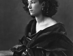 Sarah Bernhardt, fotografata da Félix Nadar (1864)