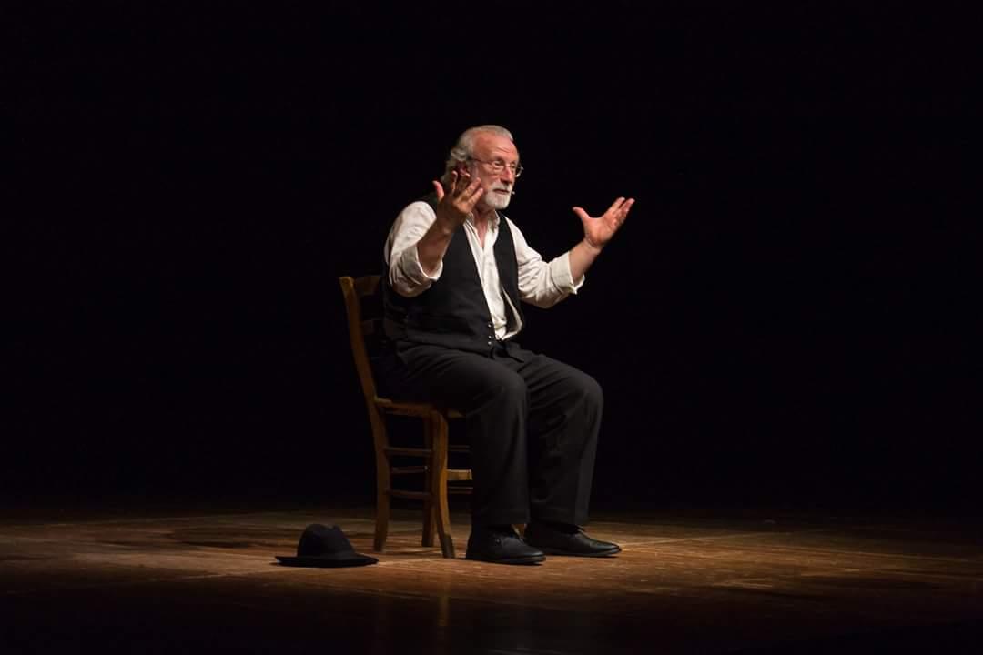 Francesco Niccolini Giobbe. Foto di scena ©Silvia Varrani