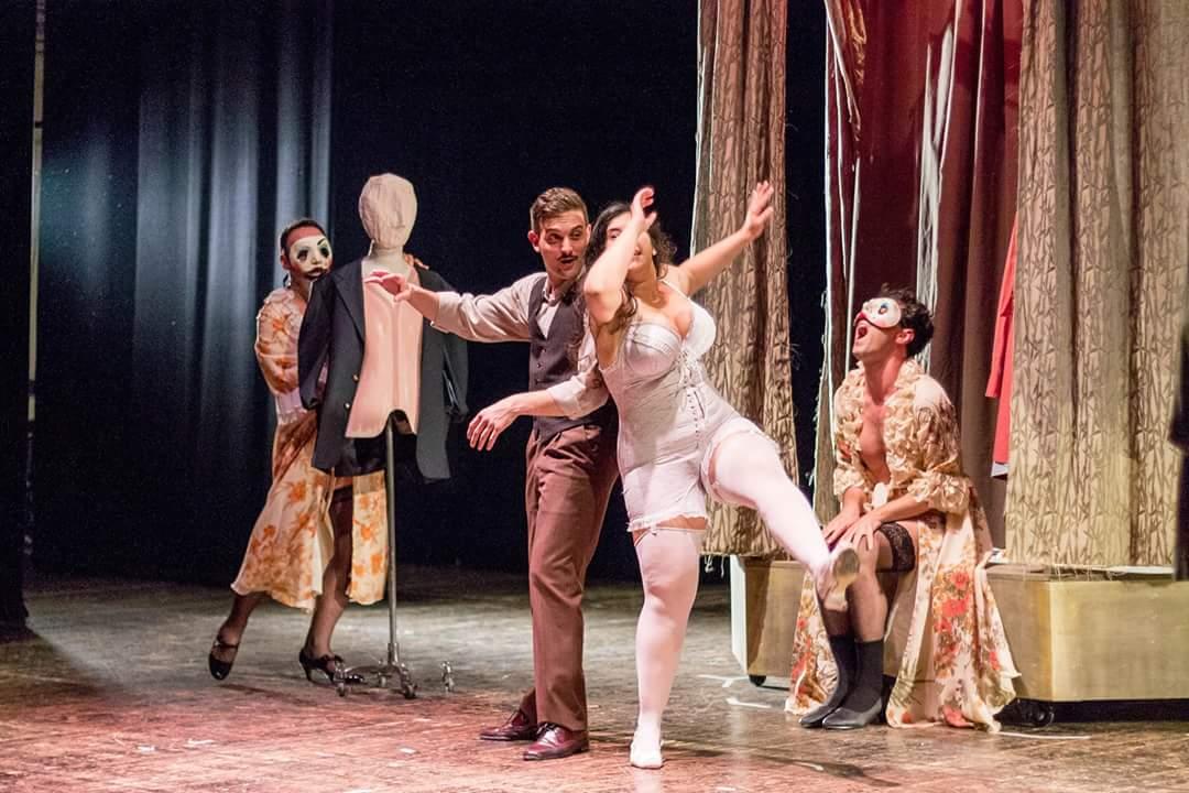 Vuccirìa Teatro Immacolata Concezione. Foto di scena ©Silvia Varrani