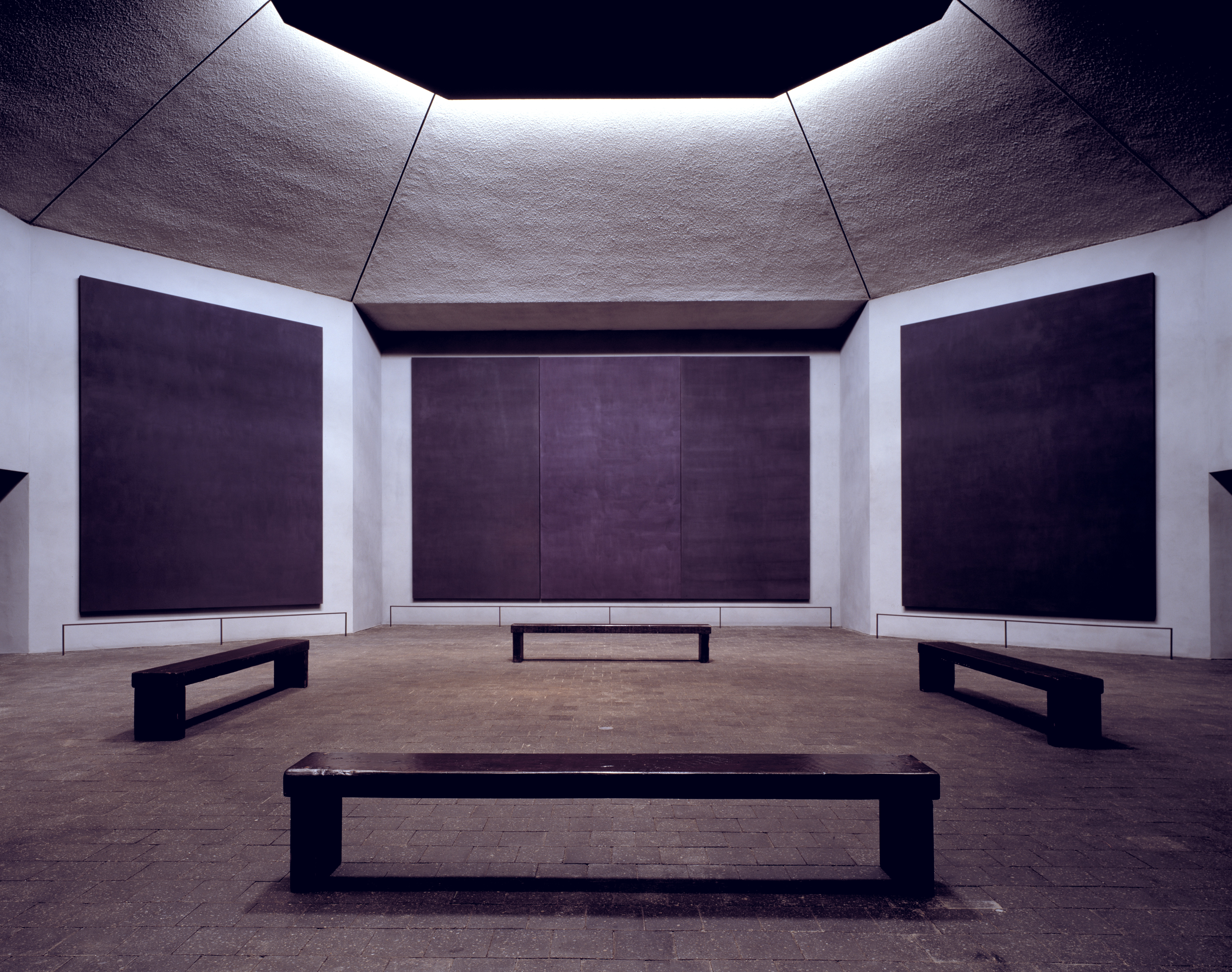 Mark Rothko Rothko Chapel (1964-71), Houston Texas, USA