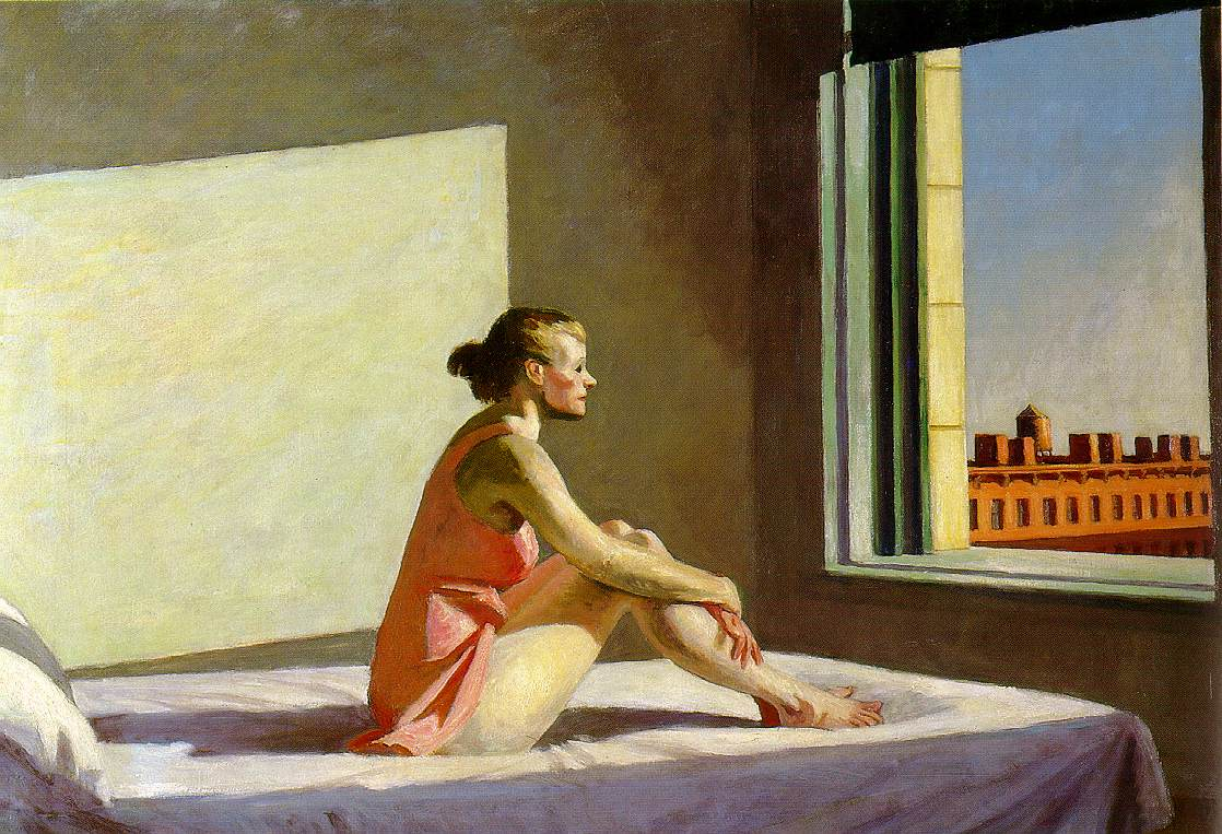 Edward Hopper Morning Sun (1954). ©Columbus Museum of Art, Ohio Howald Fund Purchase 1954.031