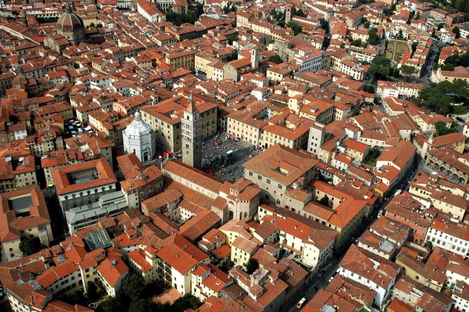 Centro storico Pistoia. Foto ©Pistoia Capitale_www.pistoia17.it