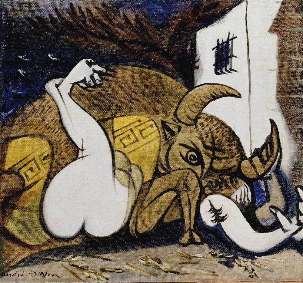 André Masson Pasiphae 1937 ©Collezione Privata, Parigi
