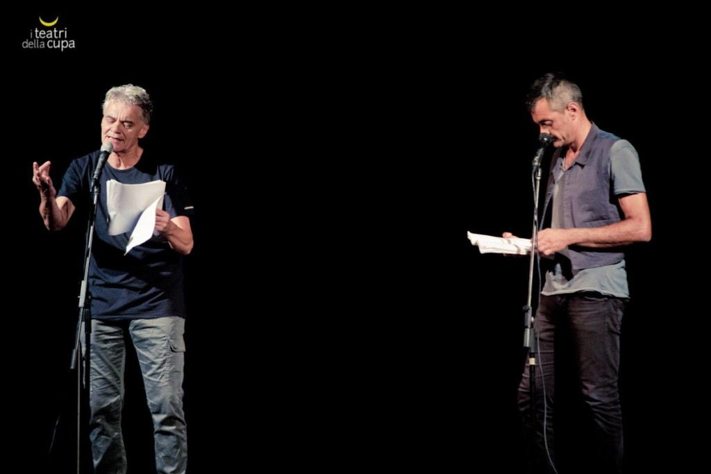 Gianluigi Gherzi e Giuseppe Semeraro. Foto ©Eliana Manca