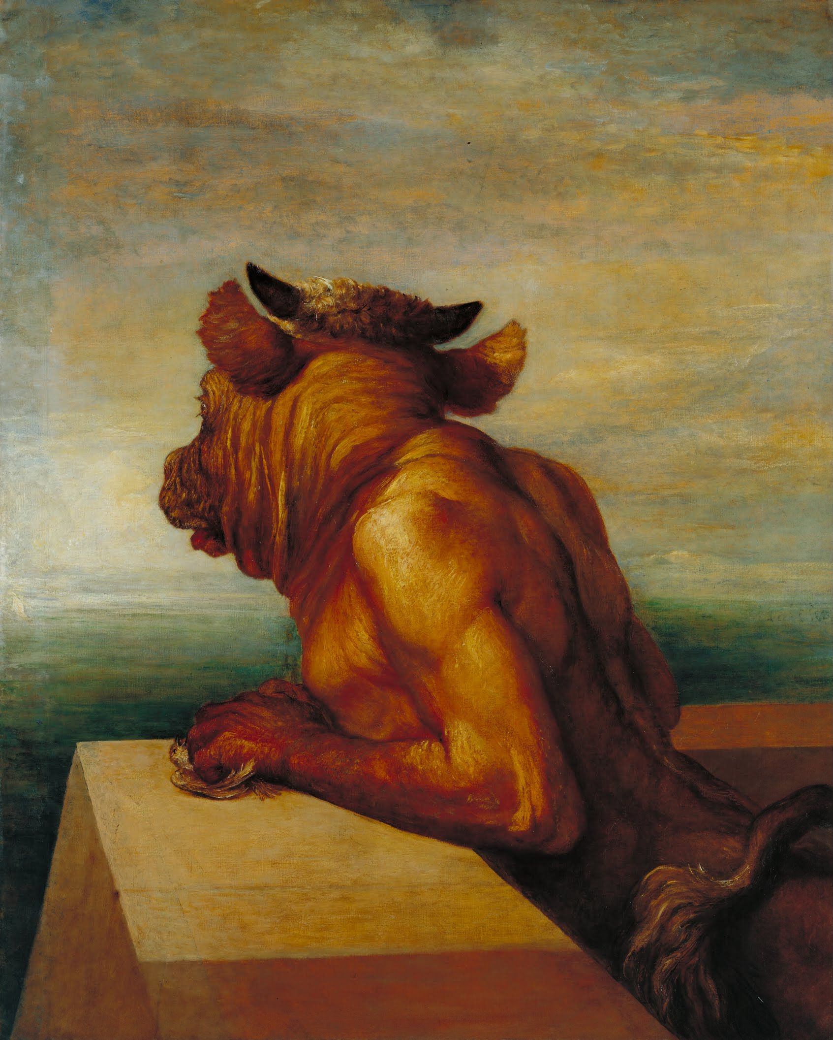 George Frederic Watts The Minotaur (1885) ©Tate Gallery, Londra