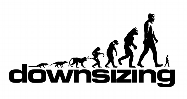 downsizing poster