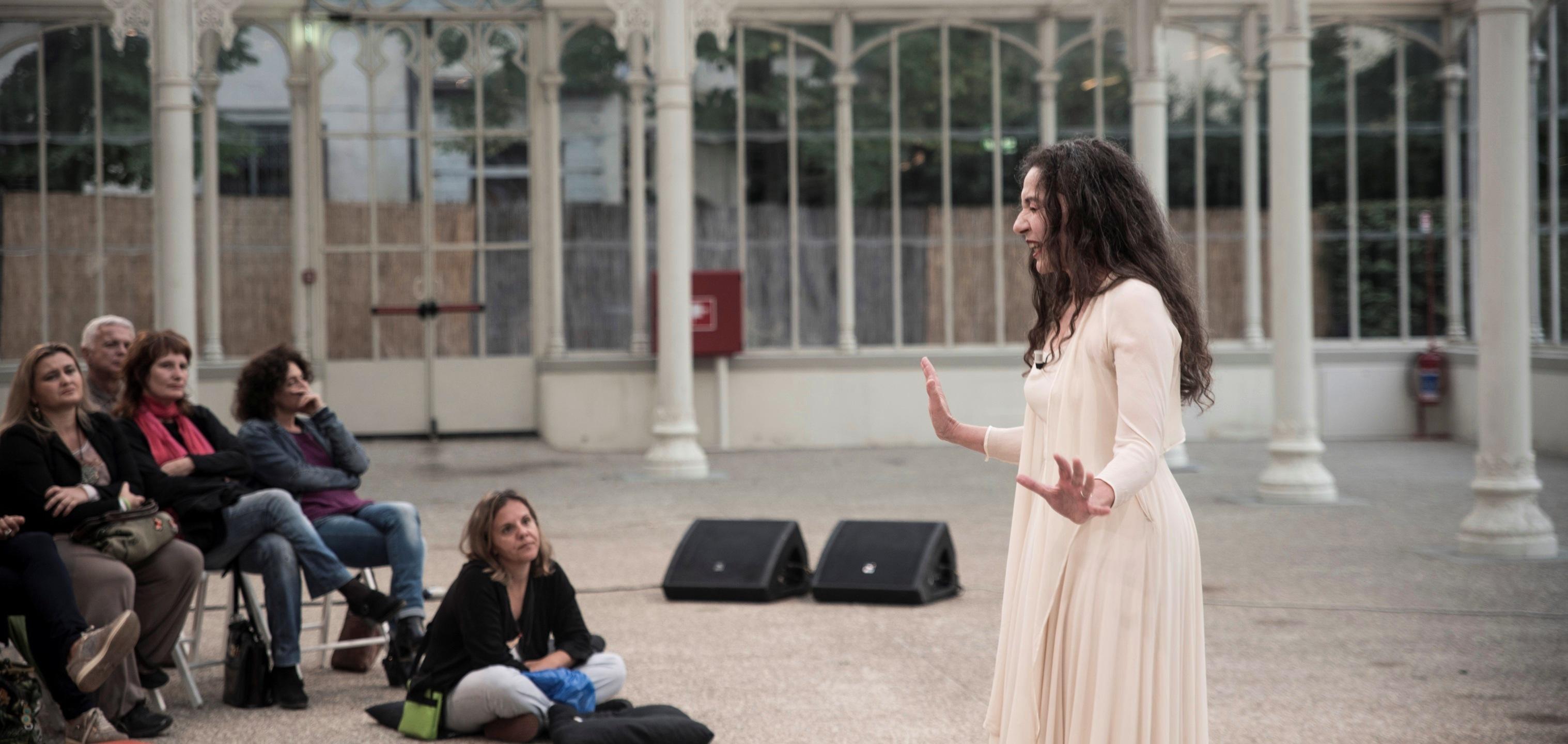Vincenza Modica Trilogia dell'attesa. Foto ©Fosca