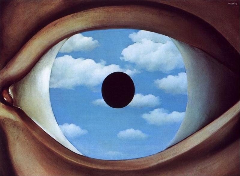 Magritte - Il falso specchio