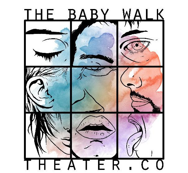 The Baby Walk Logo. Grafica ©Ehsan Mehrbakhsh