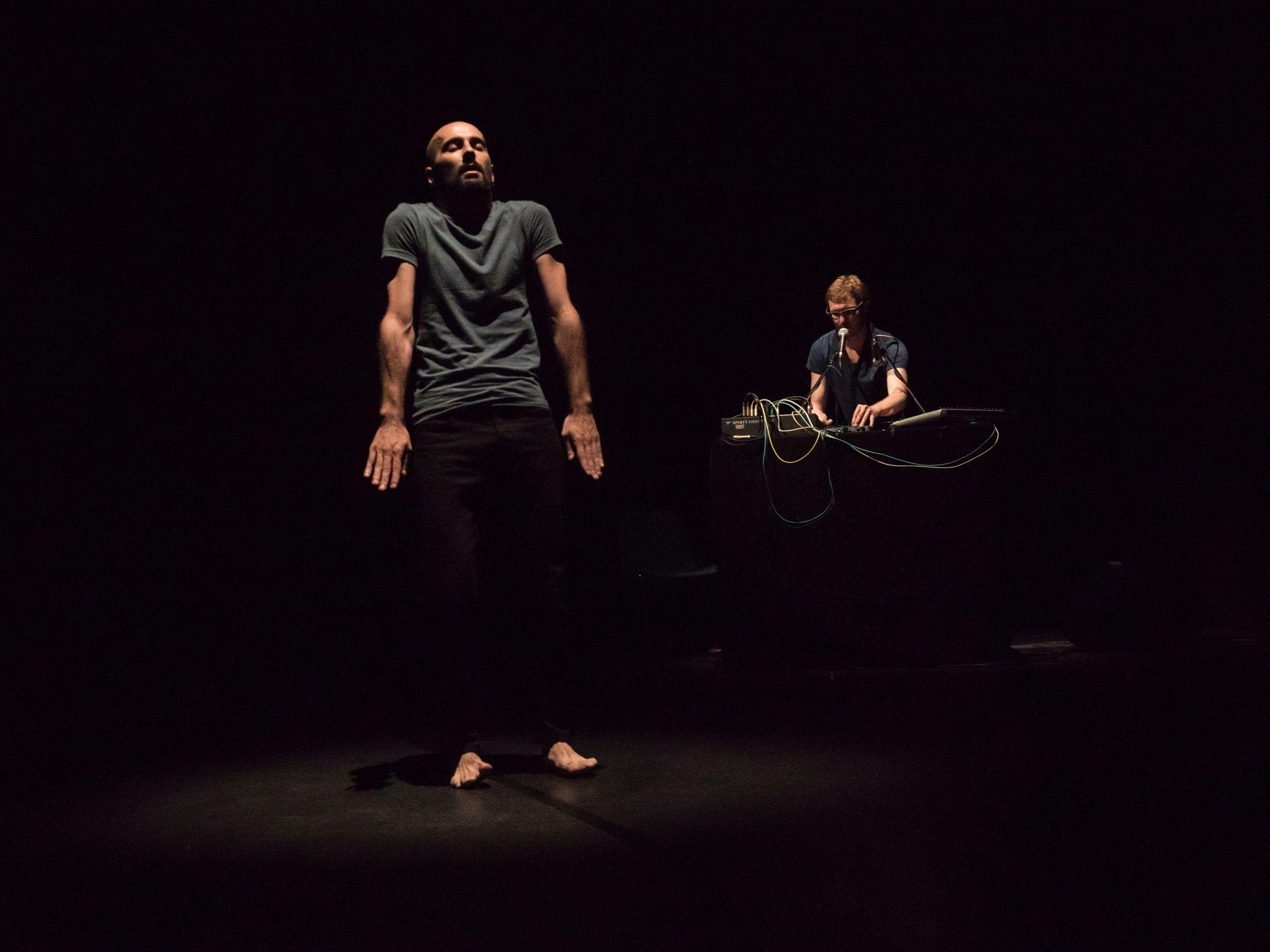Daniele Ninarello & Dan Kinzelman Kudoku. Foto di scena ©Andrea Macchia