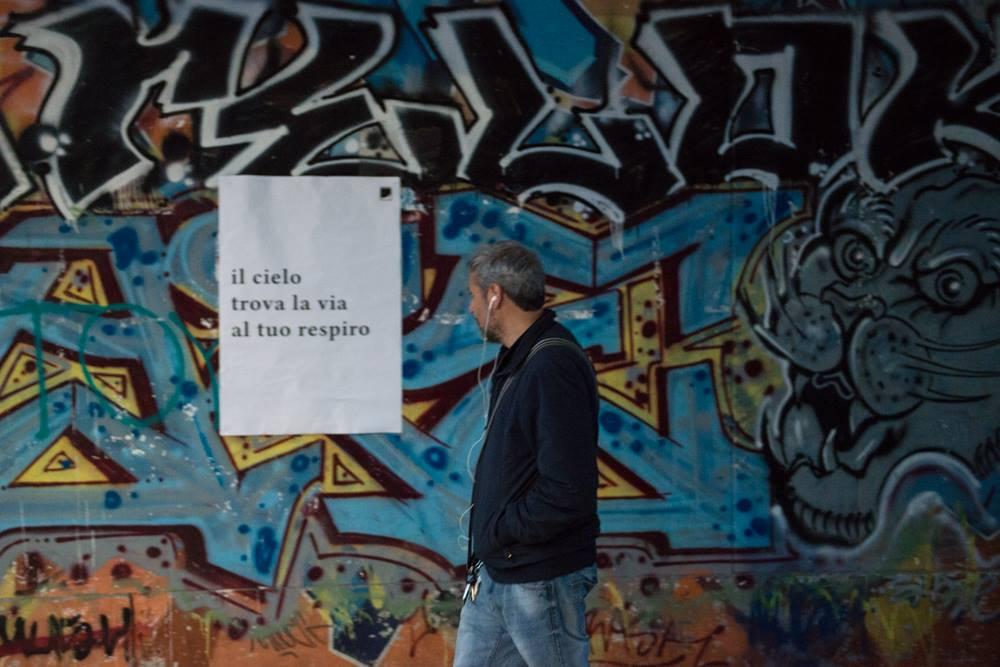 Amigdala Lettere anonime per un camminatore. Foto ©Valeria Collina