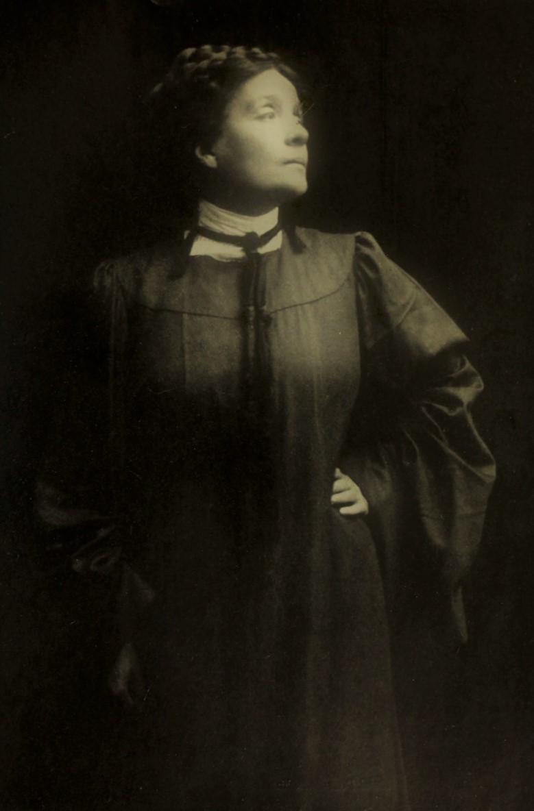 Eleonora Duse nel ruolo di Rebecca West (1906)
