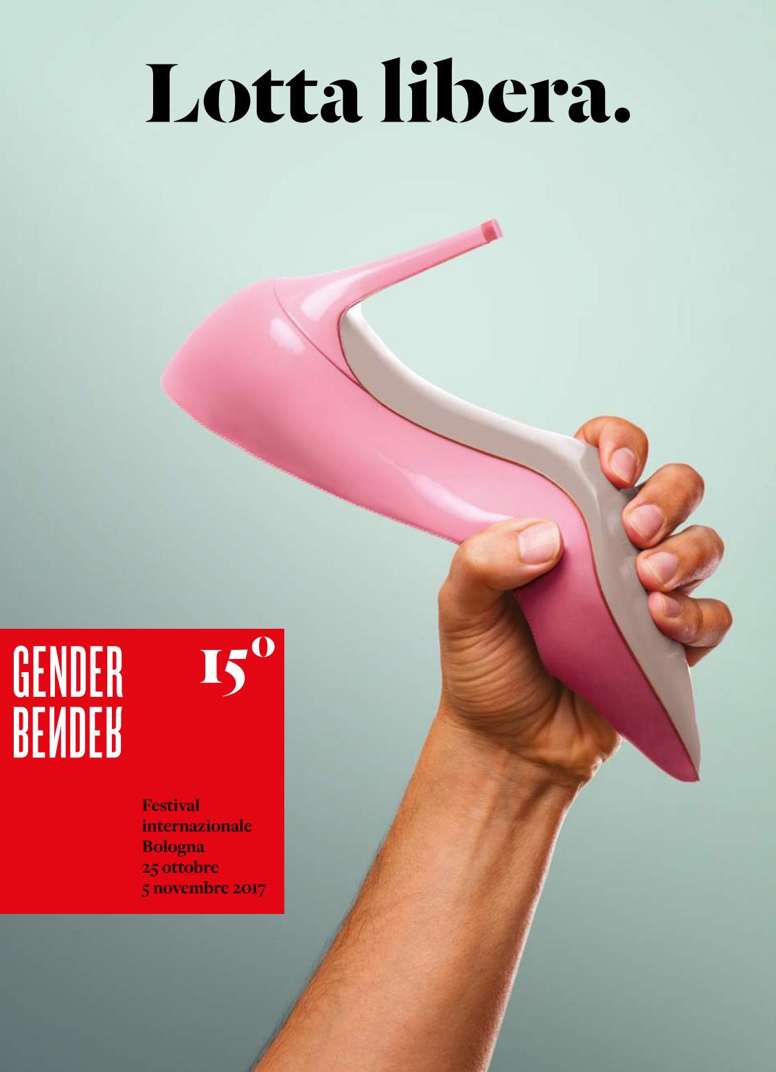 Locandina Gender Bender 2017. Progetto grafico ©Kitchen