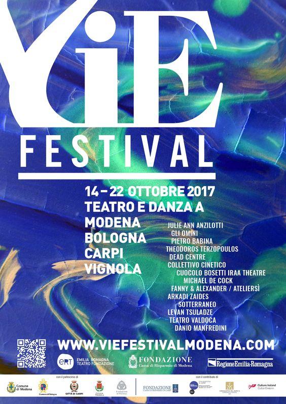 Locandina VIE festival 2017.