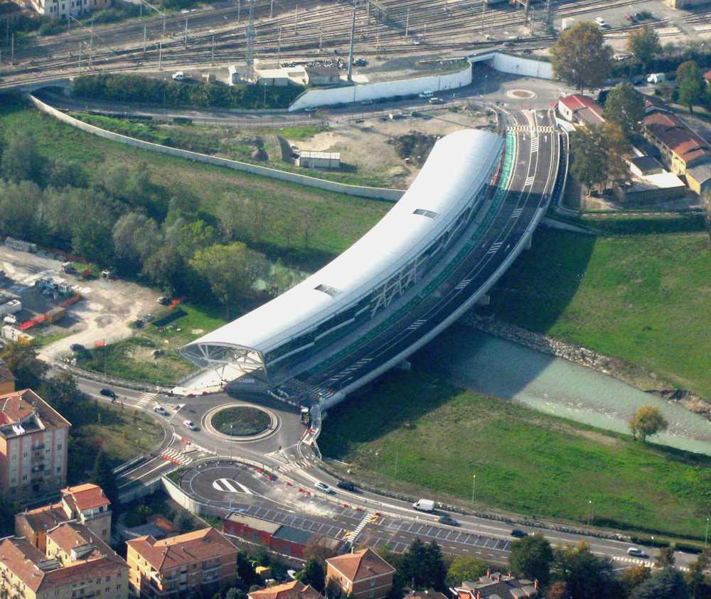 Ponte Nord, Parma. Foto ©www.parmaitalia.it