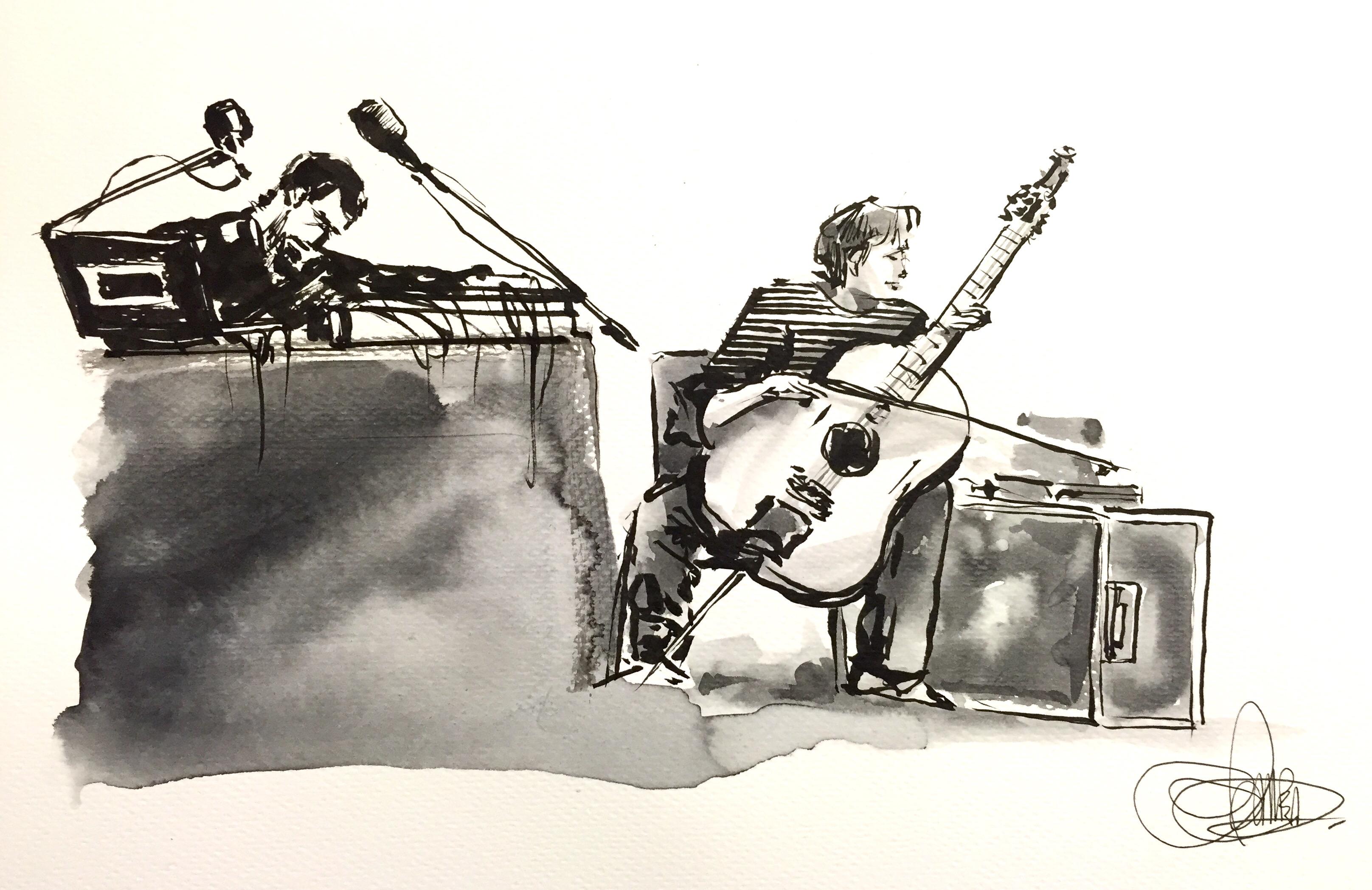 Iosonouncane + Paolo Angeli ©Andrea Musso